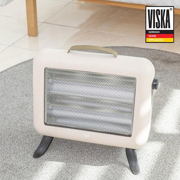 [VISKA] 비스카 2단 전기스토브_VK-EH1000QZ_베이지