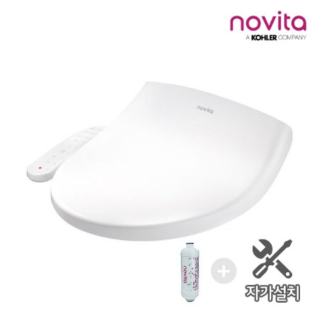 [novita] 노비타 컴포트 방수비데_BD-N441H(자가설치/필터1개) *개봉,설치후 교환반품 불가