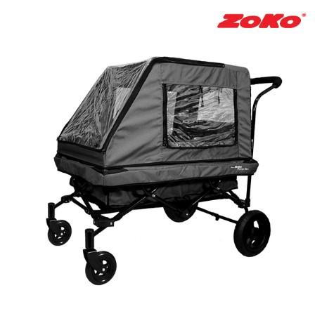 [ZOKO] 조코 NEW 프리미엄급 유모차형 웨건&트레일러 퍼니밴 ST(세미형) 그레이