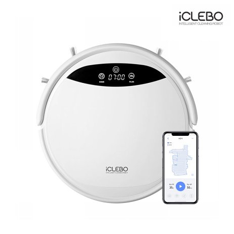 [ICLEBO] 아이클레보 지니_G5 로봇청소기_YCR-M09-10W 화이트