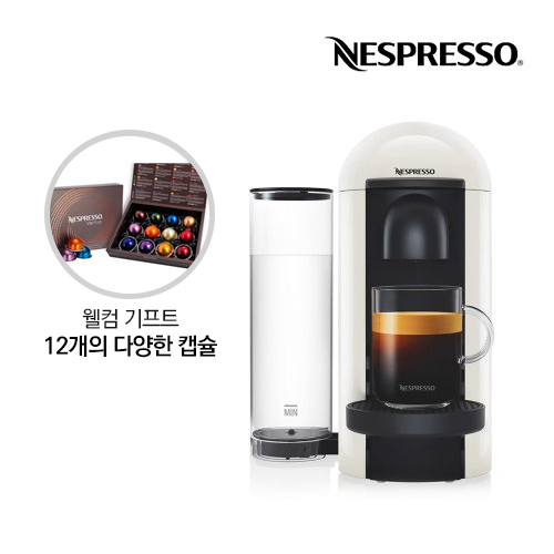 [Nespresso] 네스프레소 캡슐커피머신 버츄오 플러스_GCB2WH_화이트